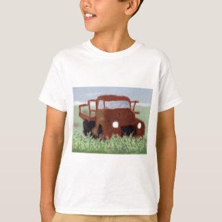 Rostiger alter LKW T-Shirt