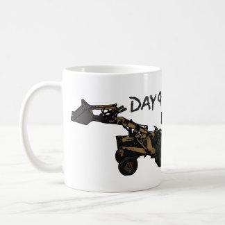 Rostiger Arbeitspferd Kaffeetasse