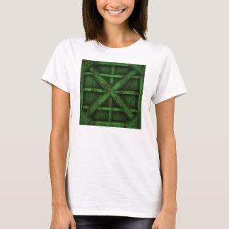 Rostiger Behälter - Grün - T-Shirt