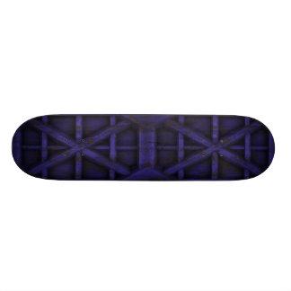 Rostiger Behälter - lila - 18,4 Cm Mini Skateboard Deck