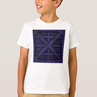 Rostiger Behälter - lila - T-Shirt