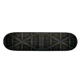 Rostiger Behälter - Schwarzes - 18,4 Cm Mini Skateboard Deck