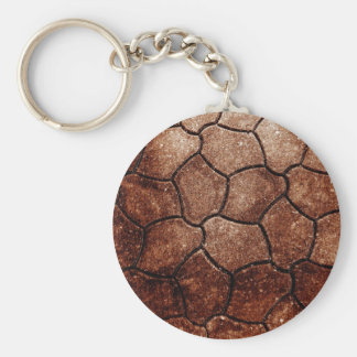 rostiger brauner Kunstbrand-Rauch abstrakter antik Schlüsselanhänger