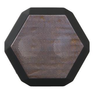 Rostiger Eisen-Beschaffenheits-Hintergrund Schwarze Bluetooth Lautsprecher