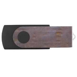 Rostiger Eisen-Beschaffenheits-Hintergrund USB Stick