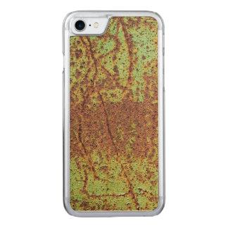 Rostiger grüner Blick Carved iPhone 8/7 Hülle