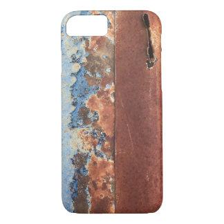 Rostiger Metalltelefonkasten iPhone 8/7 Hülle
