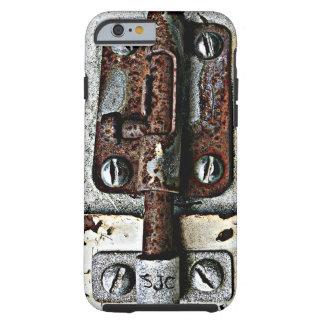 Rostiger Verschluss weggelaufen geschlossen mit Tough iPhone 6 Hülle