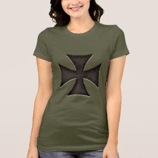 Rostiges maltesisches T-Shirt