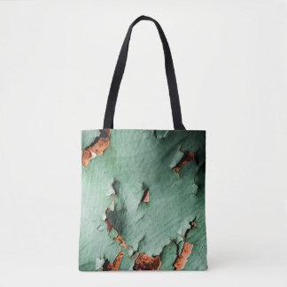 Rostiges Metall des coolen Türkisbrauns Tasche