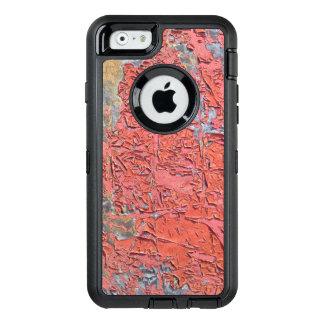 Rostiges rotes Schalen-Farben-LKW-Metall OtterBox iPhone 6/6s Hülle