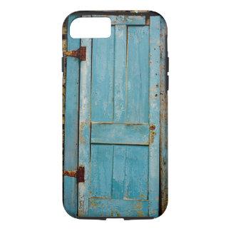 Rostiges rustikales verwittertes Tür-Retro altes iPhone 8/7 Hülle
