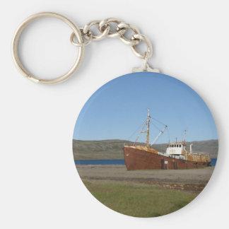 Rostiges Schiff Schlüsselanhänger