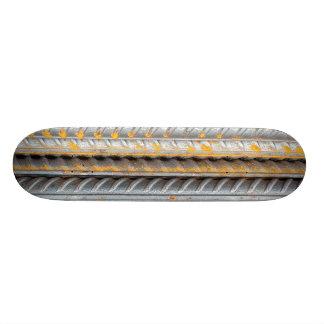 Rostiges Stahlstrichmuster 21,6 Cm Skateboard Deck
