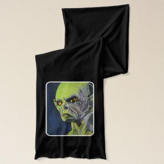 """""""Roswell alien"""" auf einem Jersey-Schal Schal"""