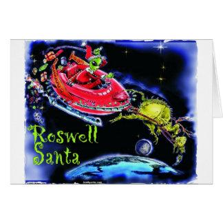 Roswell Sankt Grußkarte