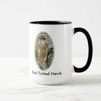 Rot-Angebundene Falke-Kaffee-Tasse Tasse