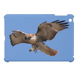 Rot angebundene Falke-Vogel-Raubvogel-Tier-Tiere Hüllen Für iPad Mini
