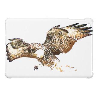 Rot angebundene Falke-Vogel-Raubvogel-Tier-Tiere iPad Mini Hüllen