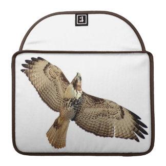 Rot angebundene Falke-Vogel-Raubvogel-Tier-Tiere MacBook Pro Sleeve