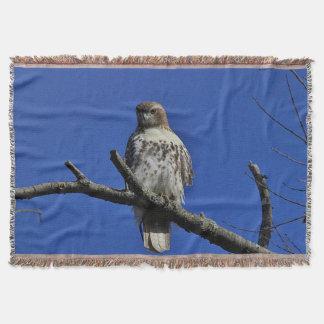 Rot-angebundener Falke Decke