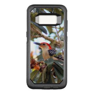 Rot-Aufgeblähtes Specht-Foto OtterBox Commuter Samsung Galaxy S8 Hülle