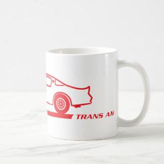 Rot-Auto 1974-78 Transportes morgens Kaffeetasse