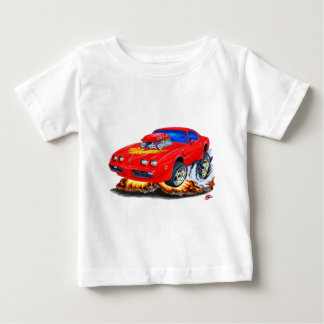 Rot-Auto 1979-81 Transportes morgens Baby T-shirt