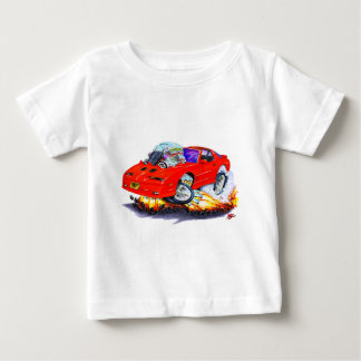 Rot-Auto 1982-92 Transportes morgens Baby T-shirt