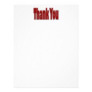 Rot danken Ihnen 21,6 X 27,9 Cm Flyer