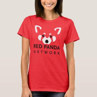 Rot das T-Stück der roter Panda-Frauen T-Shirt
