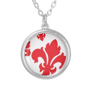 Rot der Lilien-4 Halsketten