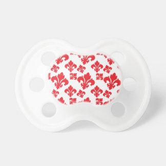 Rot der Lilien-4 Schnuller