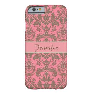 Rot des Vintagen, blassen Veilchens u. Sand Barely There iPhone 6 Hülle