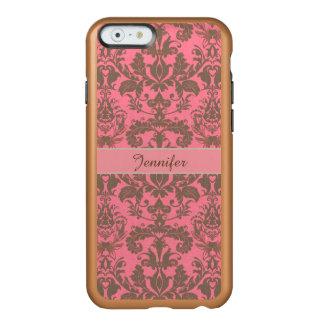 Rot des Vintagen, blassen Veilchens u. Sand Incipio Feather® Shine iPhone 6 Hülle
