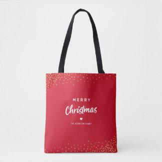 ROT | frohe Weihnachten Tasche