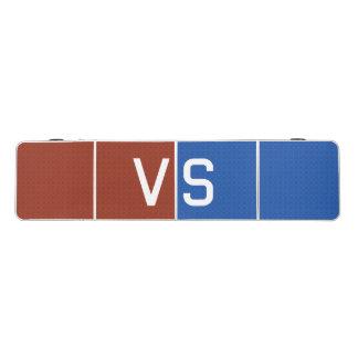Rot gegen Blau Beer Pong Tisch