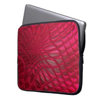 Rot gemustert laptopschutzhülle