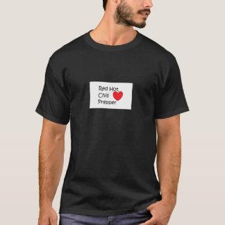 Rot - heißer Chili Prepper T-Shirt