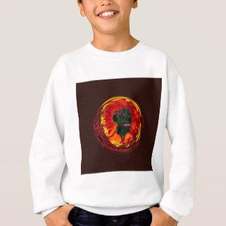 Rot in der Kugel Sweatshirt