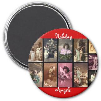 Rot-Magnet der Feiertags-Engels-II - kundengerecht Kühlschrankmagnete