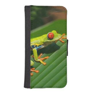 Rot-mit Augen Frosch Baum des tropischen Geldbeutel Hülle Für Das iPhone SE/5/5s
