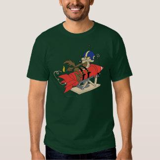 Rot Rocket Wile E. Coyote Launching Shirts
