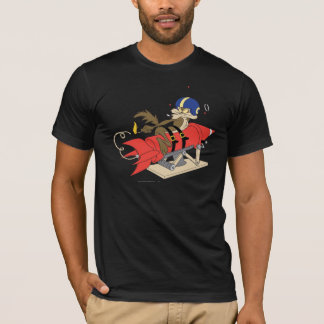 Rot Rocket Wile E. Coyote Launching T-Shirt