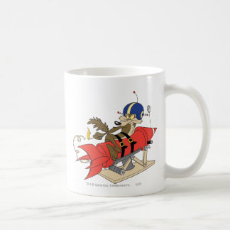 Rot Rocket Wile E. Coyote Launching Tasse