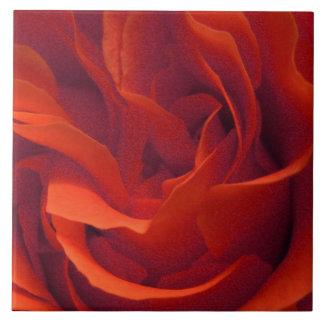 Rot, Rosen-Fliese Fliese