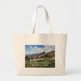 Rot schaukelt ampitheatre in Morrison Colorado Jumbo Stoffbeutel