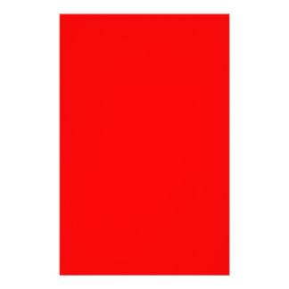 Rot-Side-orange Gewohnheit gefärbt Briefpapier