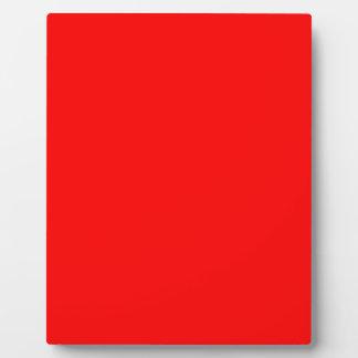 Rot-Side-orange Gewohnheit gefärbt Fotoplatte