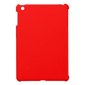 Rot-Side-orange Gewohnheit gefärbt iPad Mini Hülle
